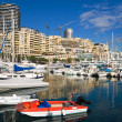 Royalty-Free Stock Photo: Monte Carlo harbor