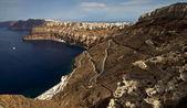 Santorini bay — Stock Photo
