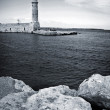 Stock Photo: Old venetilighthouse of Rethimno