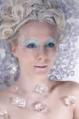 Ice queen — Stock Photo