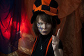 Angry mad hatter — Stock Photo
