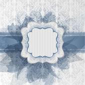 Blue bride — Stock Vector