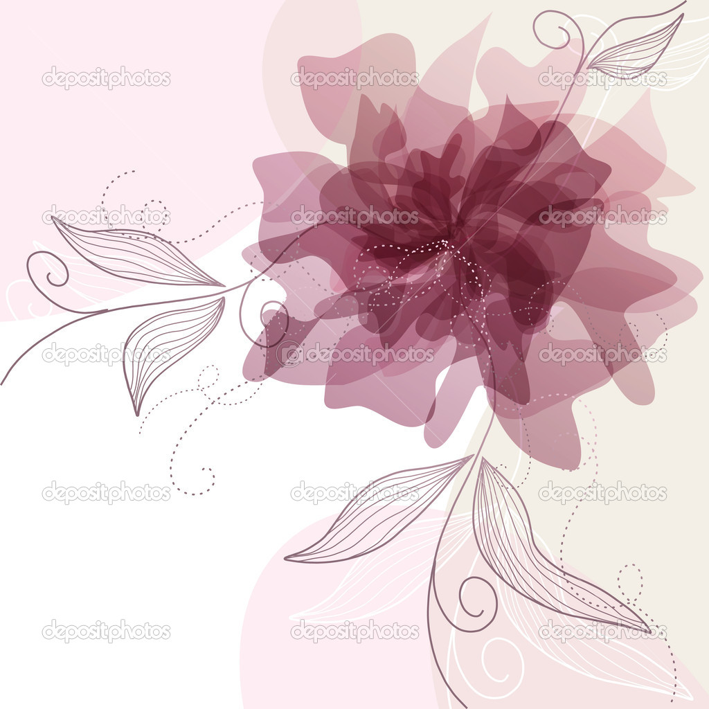Delicate floral background — Stock Vector #5339733