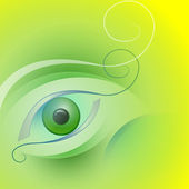 Stylized eye — Stock Vector