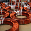Stock Photo: Toroid coils