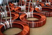 Toroid coils — Stock Photo