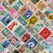 Stock Photo: Stamps of World