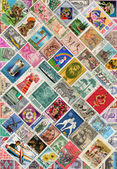 Stamps of the World — Stock Photo