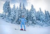Neige ski — Photo