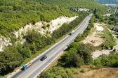 Dağ yolu — Stok fotoğraf
