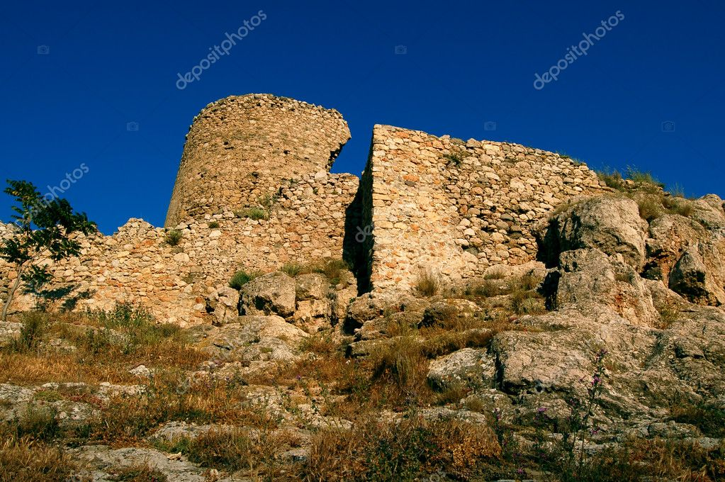 Chembalo old fort in Balaclava Crimea Ukraine  Photo #5344622