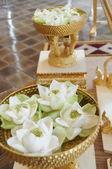 Tay düğün töreni için nesneleri — Stockfoto