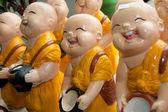 Thai Monk Laugh — Stock Photo