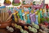 Colour full Earthenware — Stock Photo