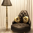 Stock Photo: Luxurious furniture in design interior