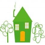 Green house. — Stock Vector