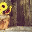 Royalty-Free Stock Photo: Sunflower still life.