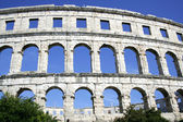 Coloseum of Pula — Stock Photo