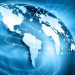 Najlepszy Internet koncepcja globalnego biznesu od koncepcji serii — Zdjęcie stockowe