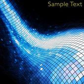 Geometrické tech pozadí. kreativní pozadí