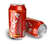 Cola nápoje v kovových plechovek