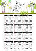 2011 calendar with American holidays