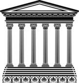 Greek temple stencil