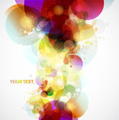 Abstract background with design elements
