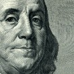 Постер, плакат: Franklin Benjamin portrait