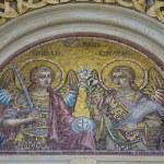 Постер, плакат: Archangels saint michael and st gabriel