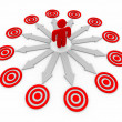 thumbnail of Many Opportunities are Targeted - Man and Arrows