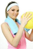 Sportive žena