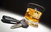 Alkoholické nápoje a klíče od auta