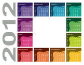 Barevný Kalendář 2012