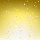 Beautiful Champagne Background Vector Illustration