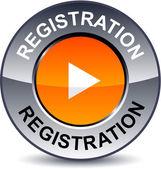 Regisztráció kör gomb