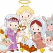 thumbnail of Christmas nativity scene