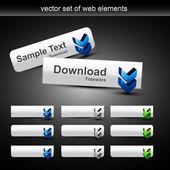 Stylish web buttons