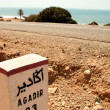thumbnail of Sign road on the way to Agadir