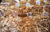 Dried fish store
