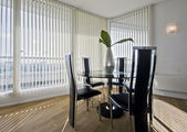 Stylish modern dining room