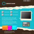 thumbnail of Web site design template