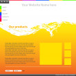 thumbnail of Web site design template
