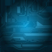 Abstract technology style background with detailed circuit board texture and numbers pattern