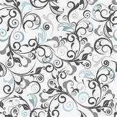Light gray vector seamless damask pattern
