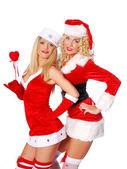 Denis vánoční dívky