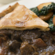 thumbnail of Game Pie with Fried Curly Kale and Potatoes