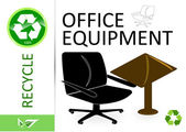 Recyklujte kancelářské vybavení