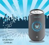 Energy drink flyer