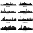 thumbnail of Set of Famous City scape